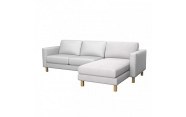 Trendy ikea karlstad addon chaise longue cover with ikea for Chaise urban ikea