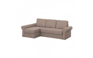 BACKABRO sofa cover with chaise longue