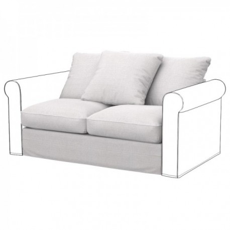 IKEA GRONLID 2-seat section cover