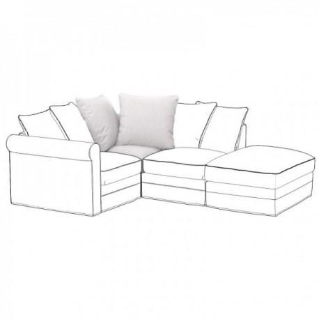 IKEA GRONLID corner element cover