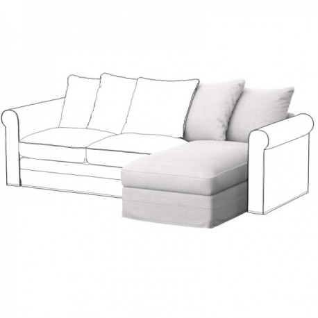 IKEA GRONLID chaise longue element cover