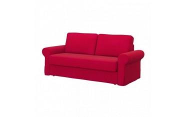 IKEA BACKABRO 3-seat sofa-bed cover, Senses Red