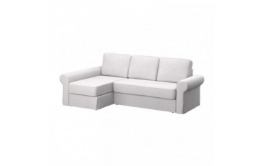 IKEA BACKABRO sofa cover with chaise longue