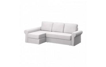 IKEA BACKABRO sofa cover with chaise longue