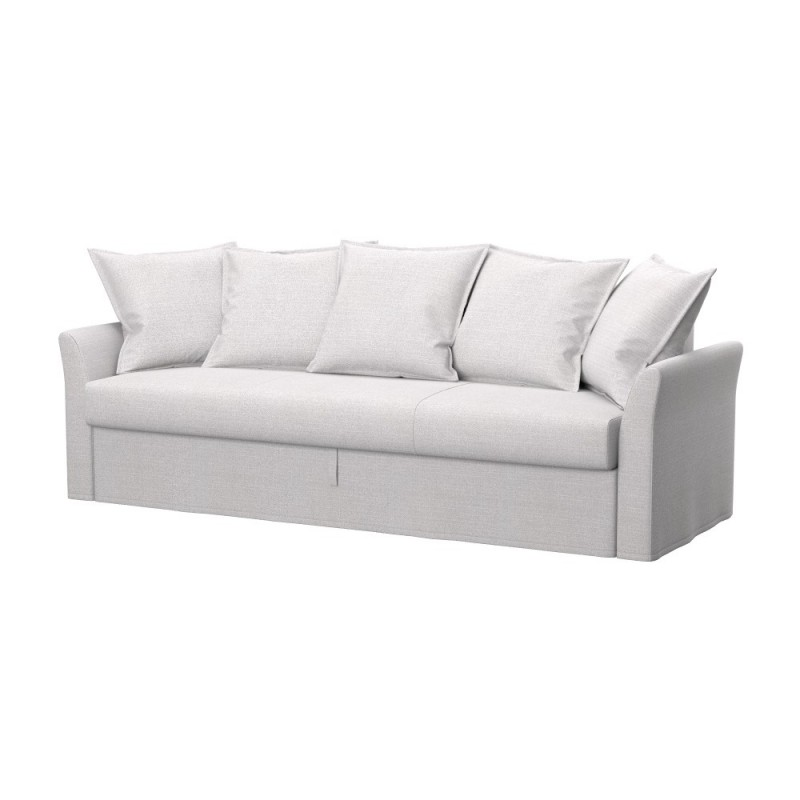 Ikea holmsund 3 seat sofa bed cover soferia covers for for Housse futon ikea