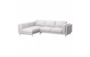 IKEA NOCKEBY 2-seat sofa cover with left chaise longue