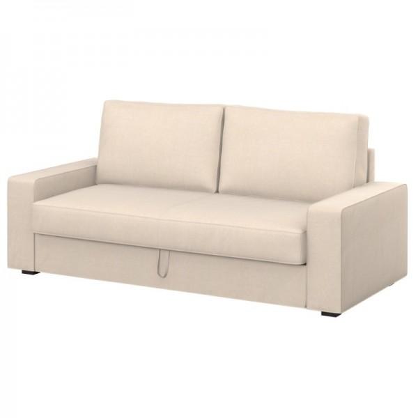VILASUND 3-seat sofa-bed cover - Soferia | Covers for IKEA sofas ...
